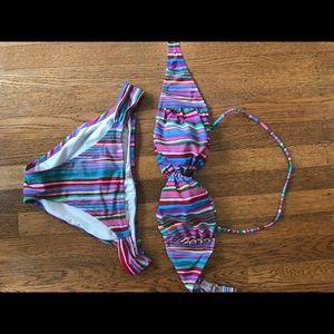 Victoria secret multicolor bikini